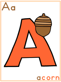 Acorns Theme - Autumn Preschool Activities and Crafts