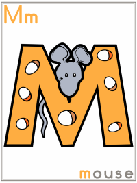 Letter M Alphabet Printable Activities Coloring Pages, Posters, Handwriting Worksheets