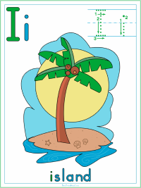 Beach and Seashore Alphabet Printable Activities