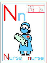 photo regarding Printable Letter N identify Alphabet Letter N Printable Routines: Coloring Webpages