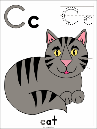 Letter C Alphabet Printable Activities