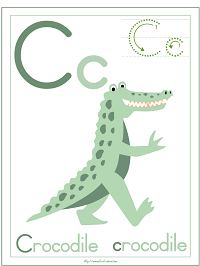 Crocodile Theme Preschool Activities and Crafts