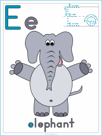 Mammals Alphabet Theme Printable Activities
