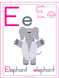 image relating to Letter E Printable known as Alphabet Letter E Printable Actions: Coloring Internet pages