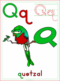 photo relating to Letter Q Printable identify Alphabet Letter Q Printable Pursuits - Coloring Internet pages