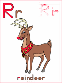 Alphabet Letter R Reindeer Preschool Lesson Plan Printable Activities and Worksheets