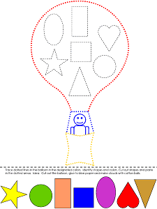 Shapes Printable Activities Coloring Pages, Flash Cards, Worksheets