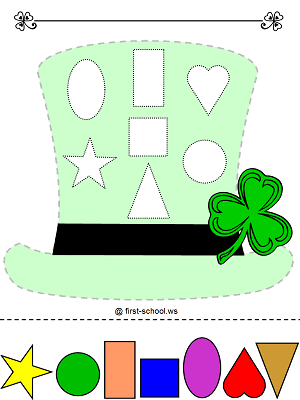 U L Qmy together with Free Kindergarten Worksheets Coloring furthermore Apple Worksheet as well Cinco De Mayo Skull Coloring Pages together with Stpat Hat Shapes Colors C. on worksheets in spanish coloring page preschool