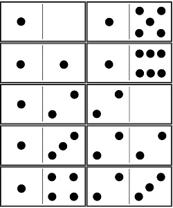 printable dominos traditional