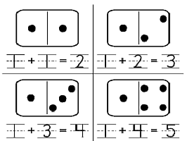 Domino Math: Printable Dominoes and Worksheet