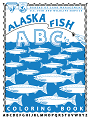 Alaska Fish ABC Coloring Book