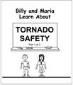 Billy and Maria Learn About Torando Safety Coloring Books