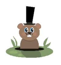 graphic about Groundhog Printable called Groundhog Printable Craft Woodchuck Preschool in direction of Initially