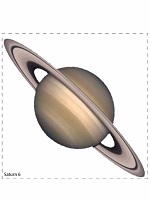 planets card 3 for banner or mobile