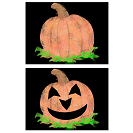 Jack-o'-lanter and Pumpkin theme activities and crafts for Halloween