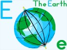 Online Jigsaw Puzzle Letter E is for Earth