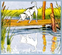 aesop's fable the dog and its reflection