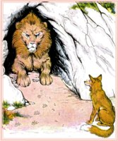 aesop's fable the fox and the sick lion