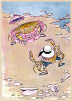 aesop's fable the yougn crab and his mother