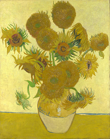 Sunflower Crafts | Visual Arts | Art Appreciation | Vincent Van Gogh | Preschool Lesson Plan Activities
