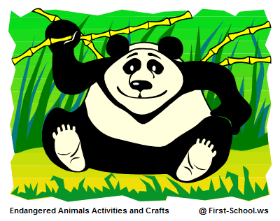 Endangered Animals Preschool Activities and Crafts