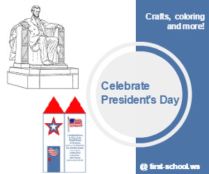 Presidents' Day Preschool Activities and Crafts for Preschool and Kindergarten