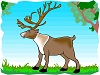 caribou or reindeer activities and crafts